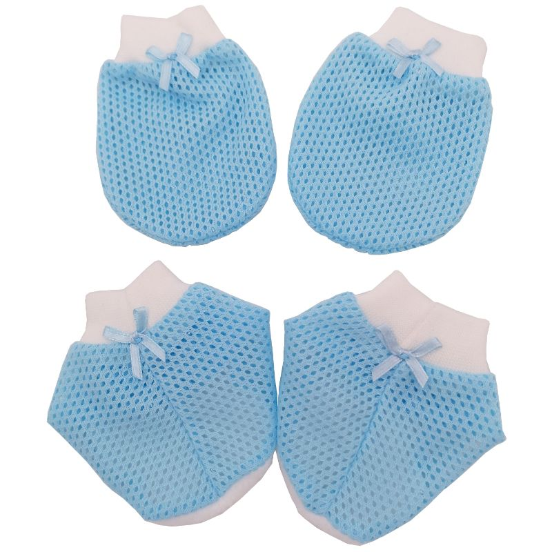 baby-fair Tollyjoy Mitten & Bootees (Fish Net)