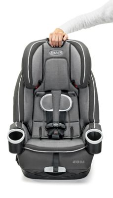 Graco 4Ever DLX Carseat (Fairmont) + Free High Back Car Cushion Protector (L) worth $79.90