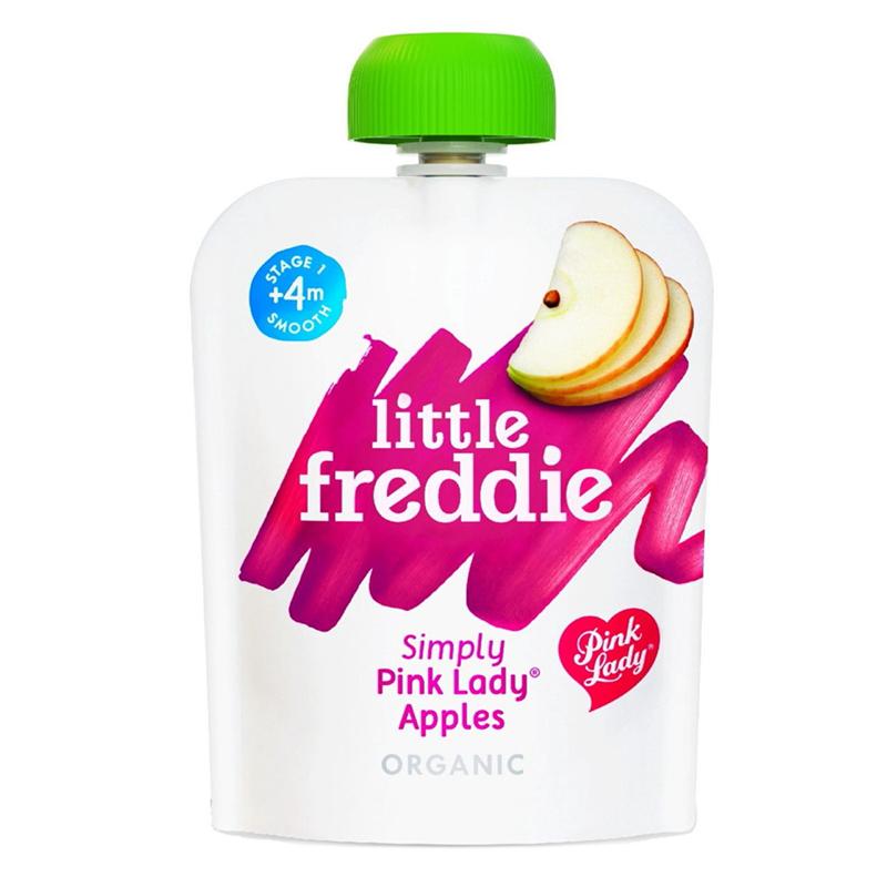 Little Freddie Organic Simple Pink Lady Apple Puree - 70g