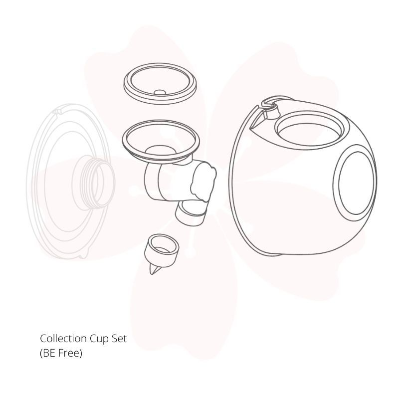 baby-fair Baby Express BE Free 4piece Collection Cup Set