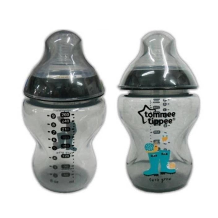Tommee Tippee CTN BPA Free Tinted Bottle (260ml) Twin Pack (Blue / Pink / Green / Purple / Black)