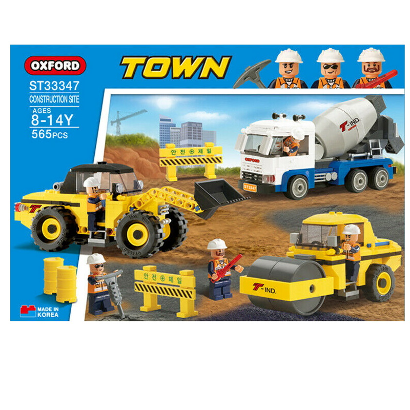baby-fairOxford Toys Town Series (Construction Site) St33347