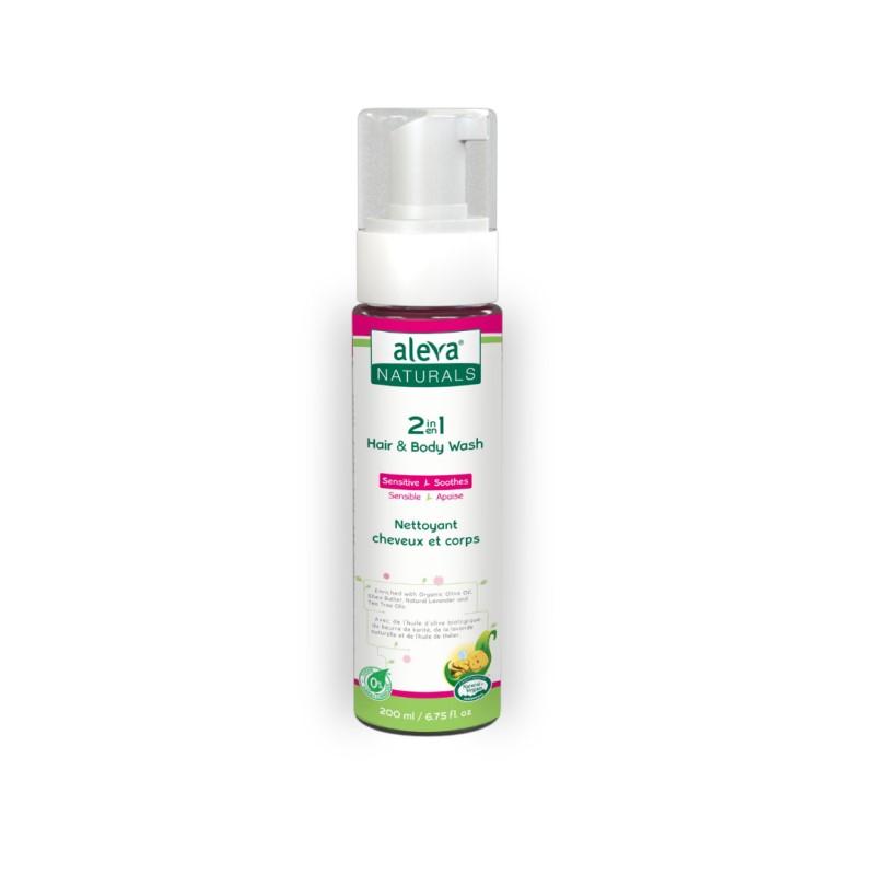 baby-fair Aleva Naturals 2 In 1 Hair & Body Wash 200ML (6.75FL OZ)