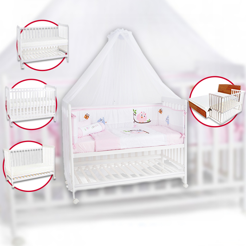 baby-fairHappy Wonder+ 5-in-1 Baby Cot Co-Sleeper with Upgraded DROP SIDE MECHANISM + Teething Rail (TOP UP: Mosquito Net and/or Mattress)