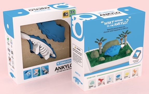 baby-fairHalftoys Ankylo Picture Book Edition