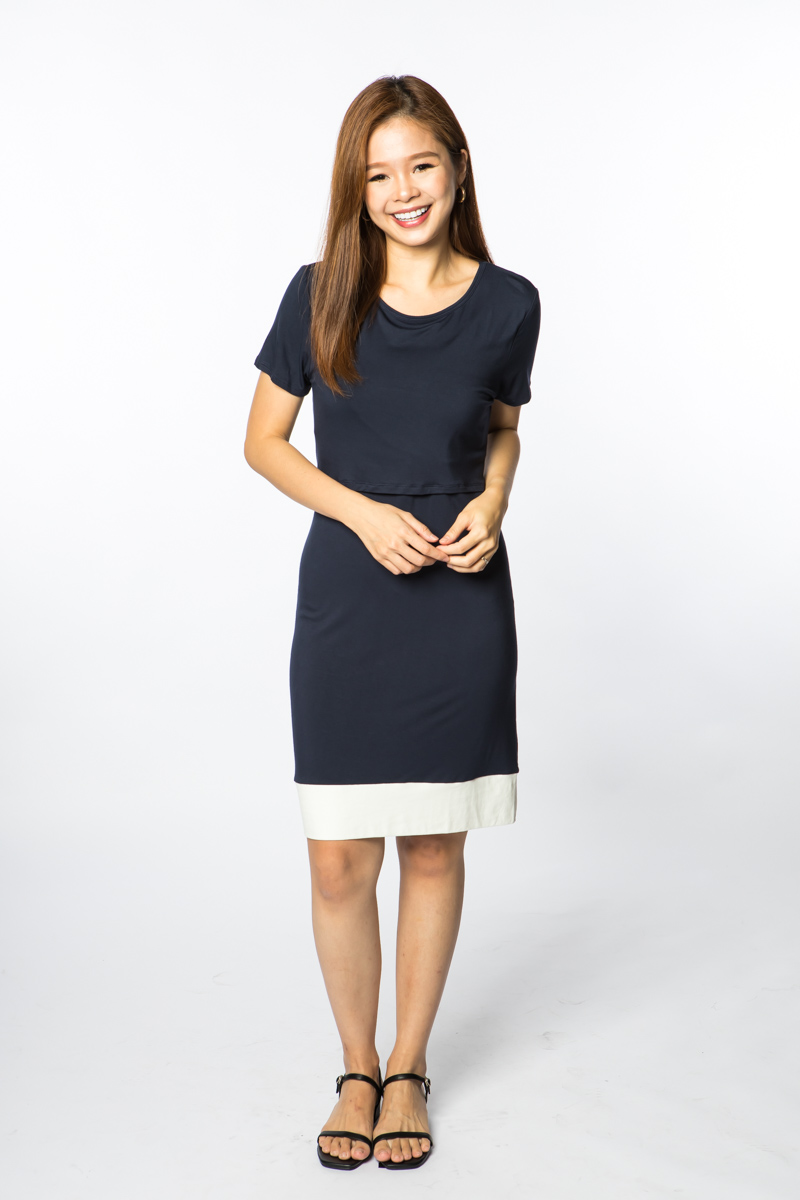baby-fairAnneeMatthew Oakland Dress - Navy