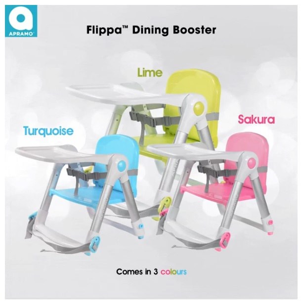 Apramo Flippa Dining Booster FREE Filppa Bag (Worth $12.90)
