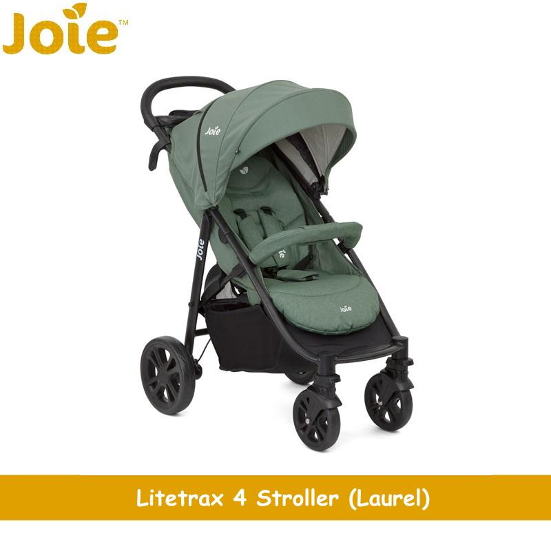 baby-fairJoie Litetrax 4 Travel System (Stroller + Gemm Carseat) + Free Raincover