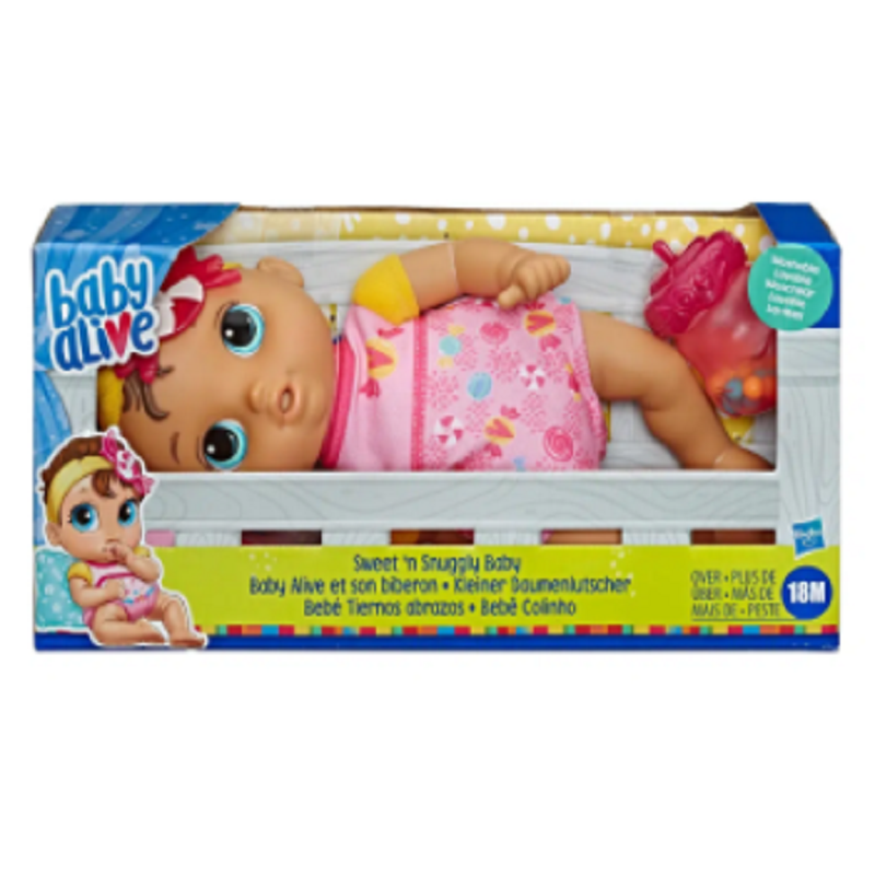 baby-fair Baby Alive Sweet and Snuggly Baby