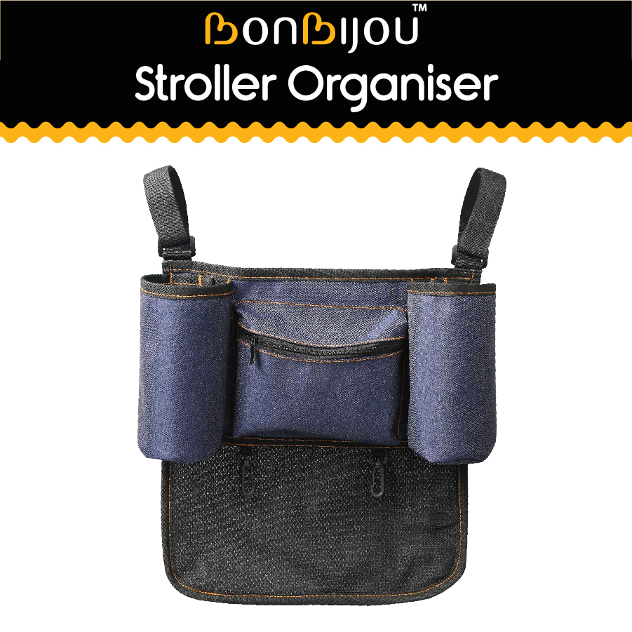 baby-fairBonbijou Smart Stroller Organiser (Denim Blue)