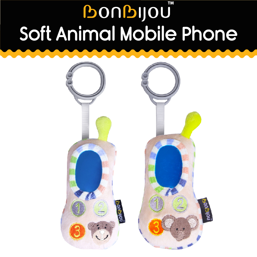 baby-fairBonbijou Soft Animal Mobile Phone