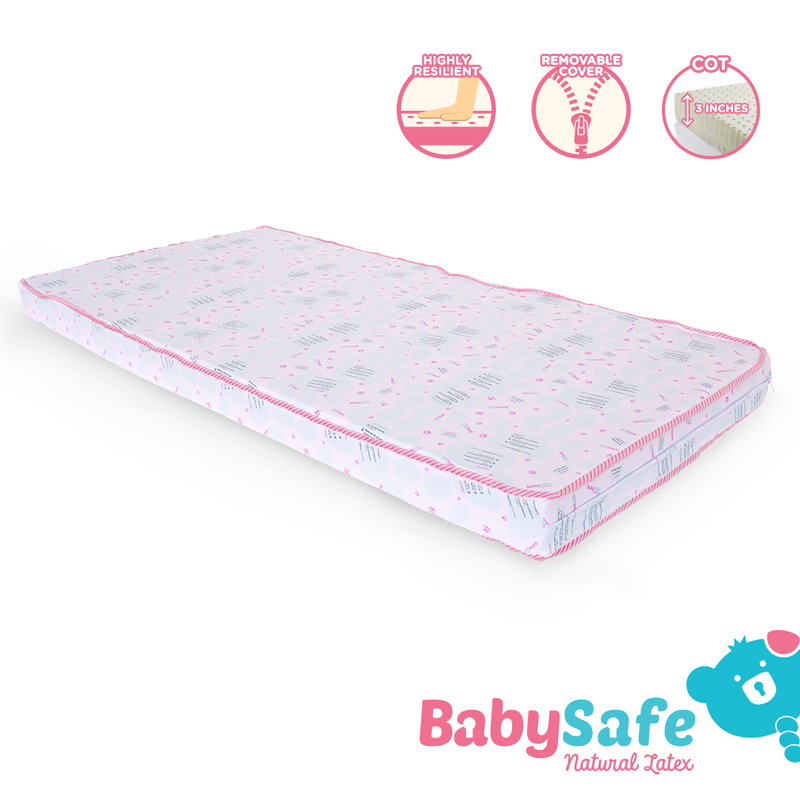 baby-fair BabySafe Latex Cot Mattress (28