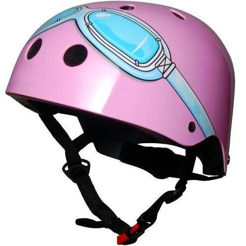 Kiddimoto Goggle Helmet (PINK)