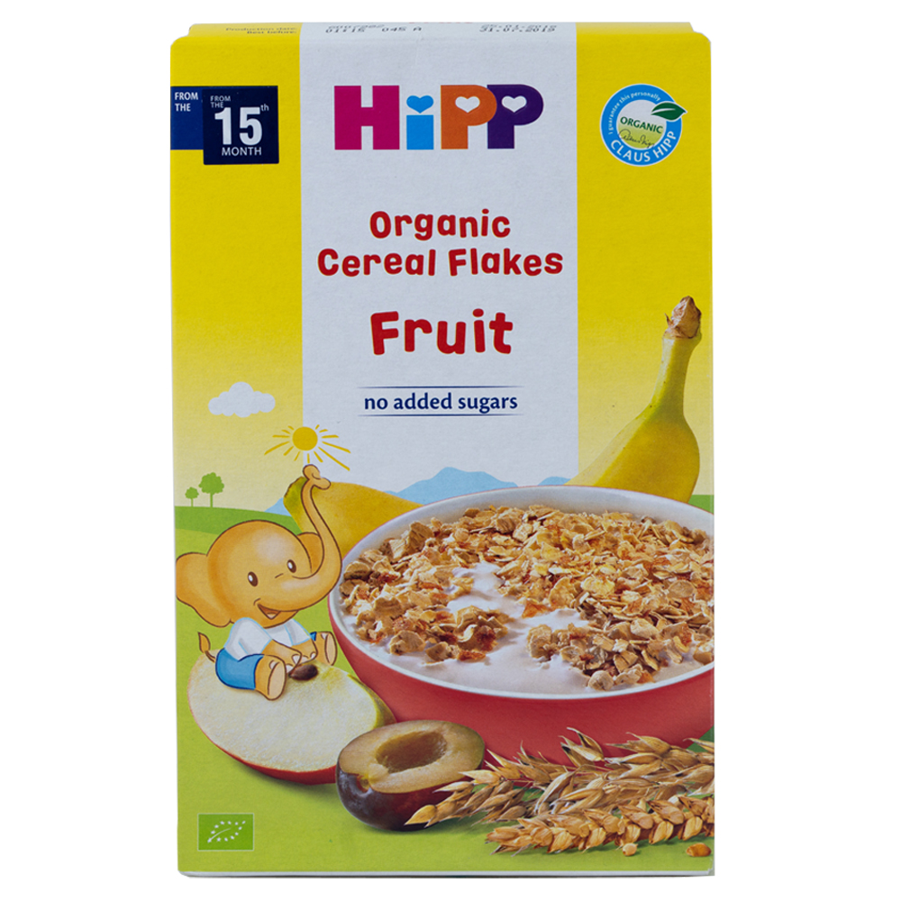 HiPP Organic Cereal Flakes Fruit 200g [Bundle of 6]