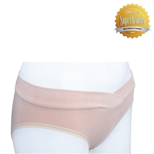 Autumnz Maternity Bamboo Panty - Nude