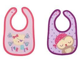 Baby City Double Sided Printing Bibs, 2pcs (bundle of 2)