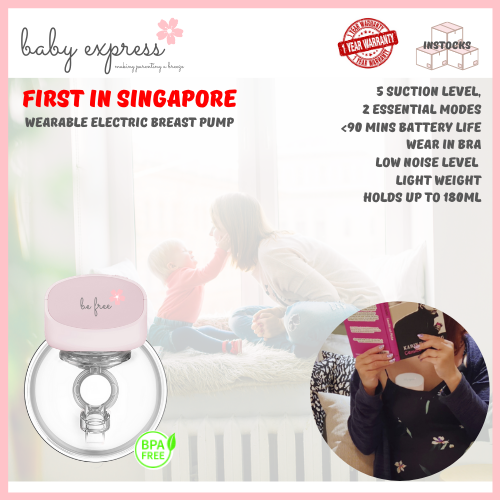 baby-fairBaby Express BE Free Wearable Electric Breast Pump