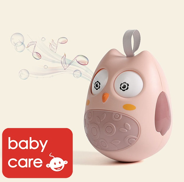 baby-fairBabycare Baby Owl Colorful Roly-Poly