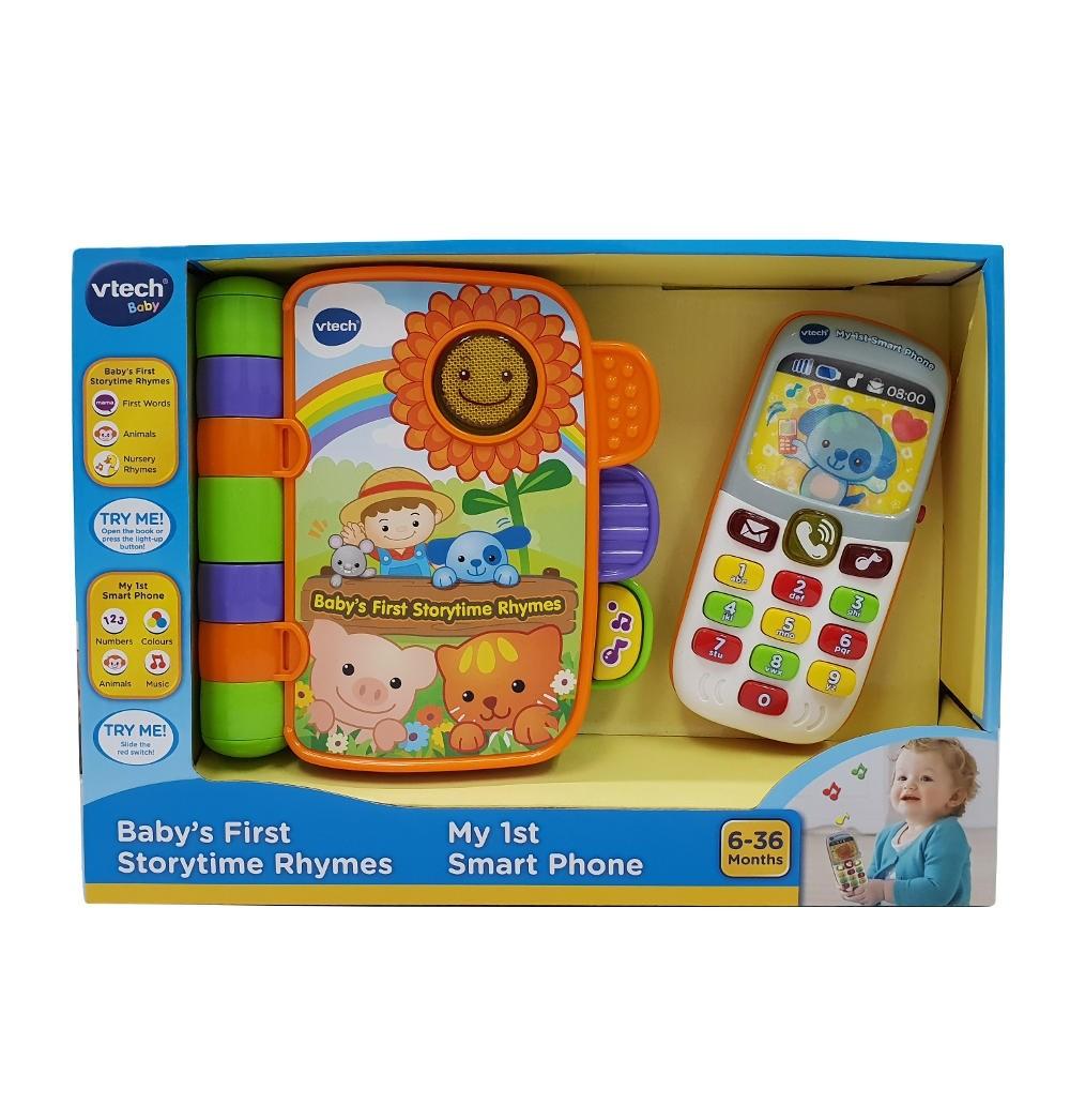 baby-fair Vtech Gift Set  Baby 1st Storytime + My 1st Phone (80-248503)