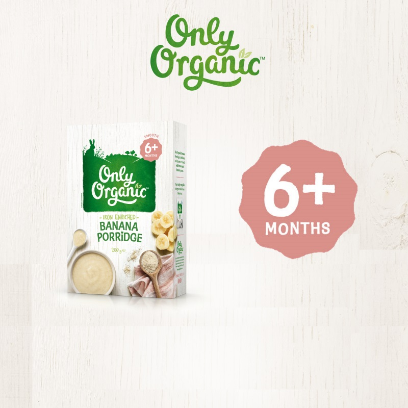 Only Organic Banana Porridge 200G