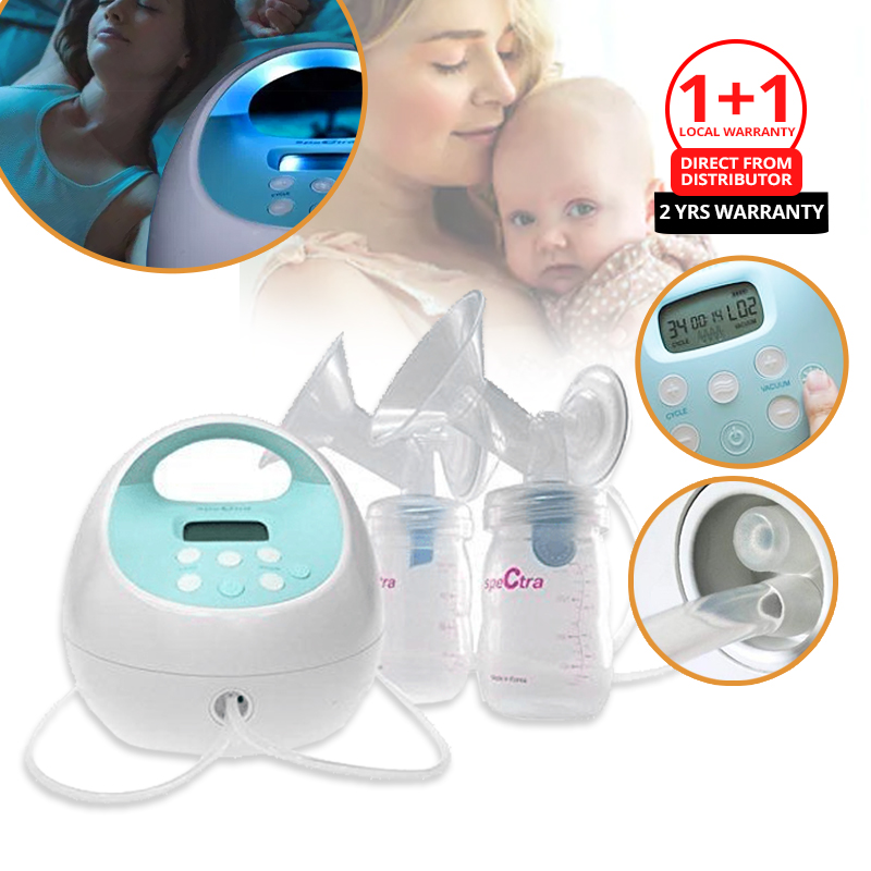 Spectra S1+ Breastpump + Free 2 Years Warranty (Delivery Starts Mid March 2021)