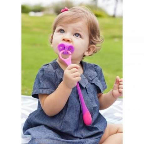 [Bundle of 2] Boon Hitch Pacifier Teether (Random Colour)