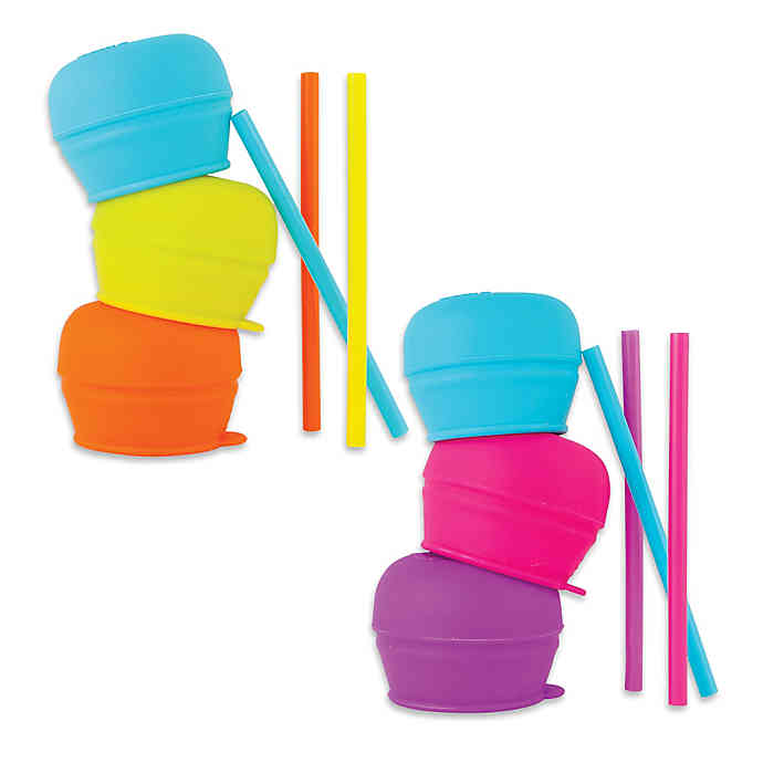 baby-fair(Coming Soon) Boon Snug Straw Lids, 3pck (Cup Not Included)