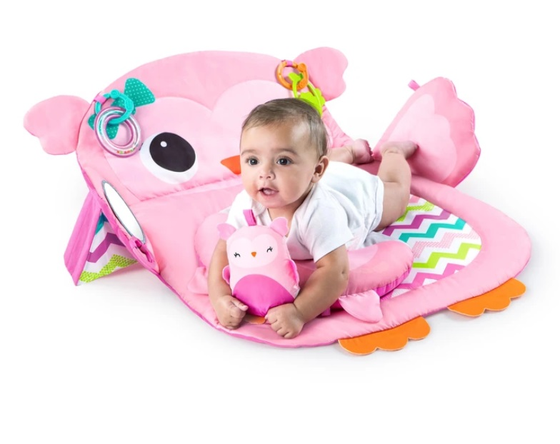 baby-fairBright Starts Tummy Time Prop & Play - Owl playmats
