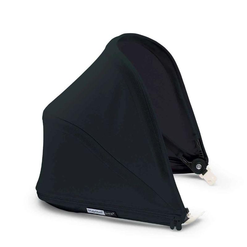 Bugaboo Bee5 Complete Stroller - Steel Blue Style Set + Black Sun Canopy + Asian Aluminium Base+