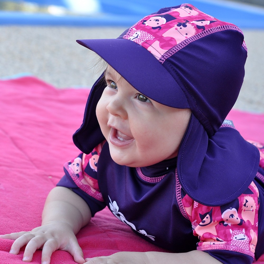 baby-fairClose Parents Sunhat [Size L - Options: Monkey, Flamingo, Crocodile, Tiger]