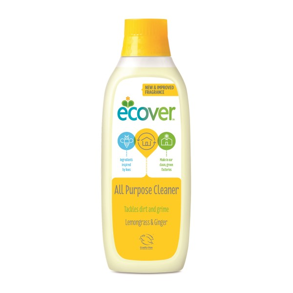 baby-fairEcover All Purpose Cleaner - Lemongrass & Ginger (1L)