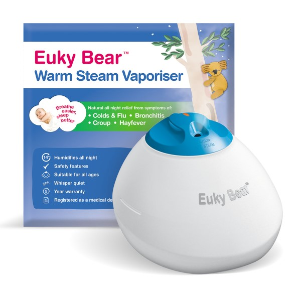 baby-fairEuky Bear Warm Steam Vaporiser
