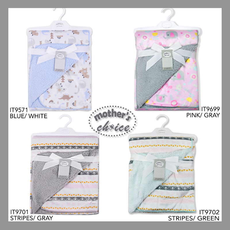 baby-fairMothers Choice Infant / Baby  Sherpa Blanket