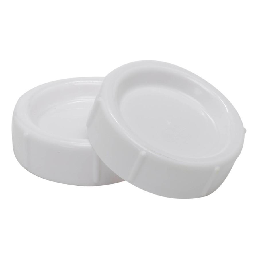 Dr Brown's Wide Neck Baby Bottle Storage Travel Cap (2pack) Bundle of 2