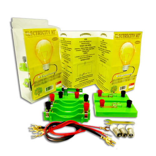 baby-fairSTEM Science Play N Learn 6 Experiments on Electricity Kit