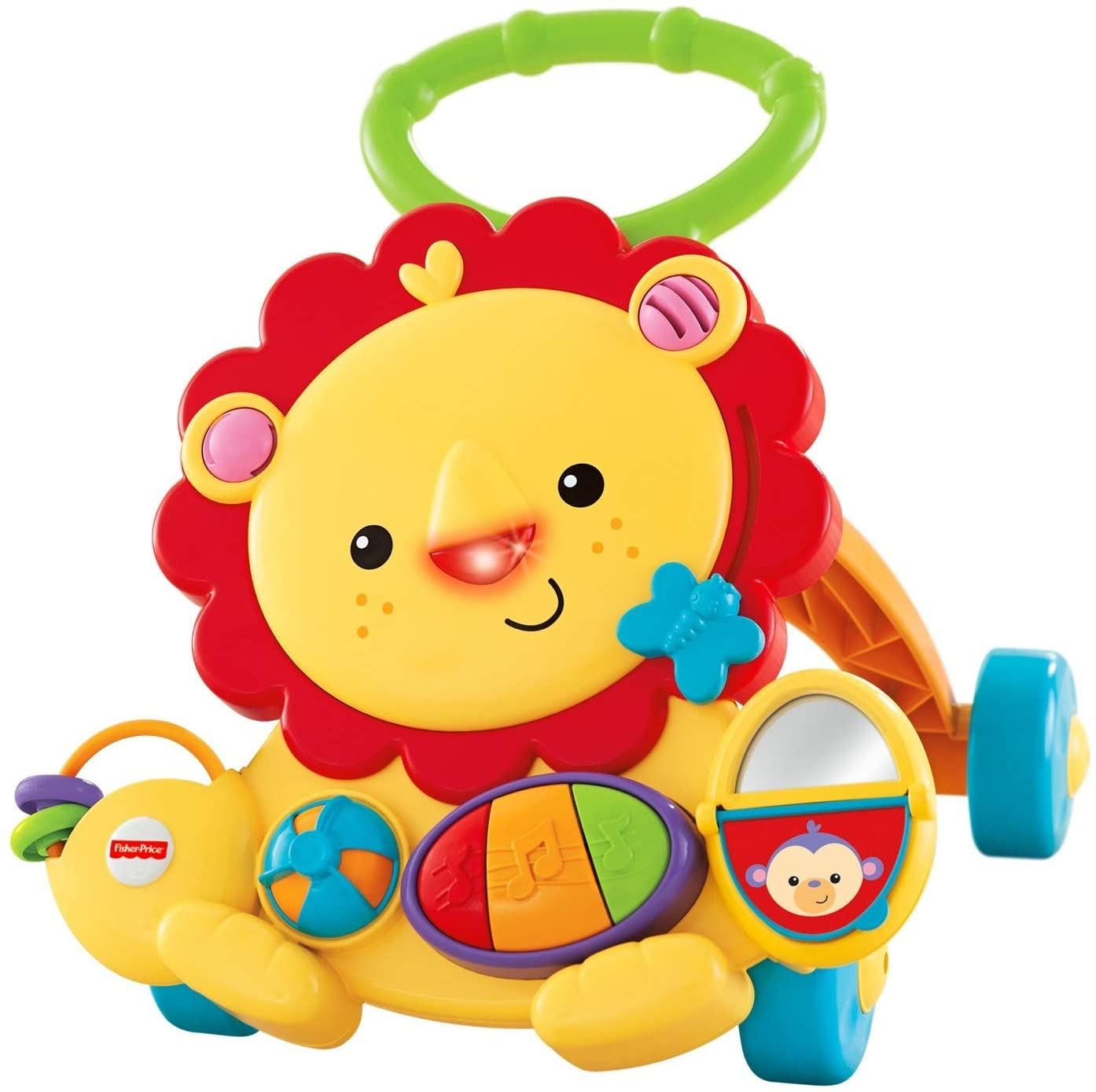 baby-fair Fisher Price Infant Signature Style Lion Walker