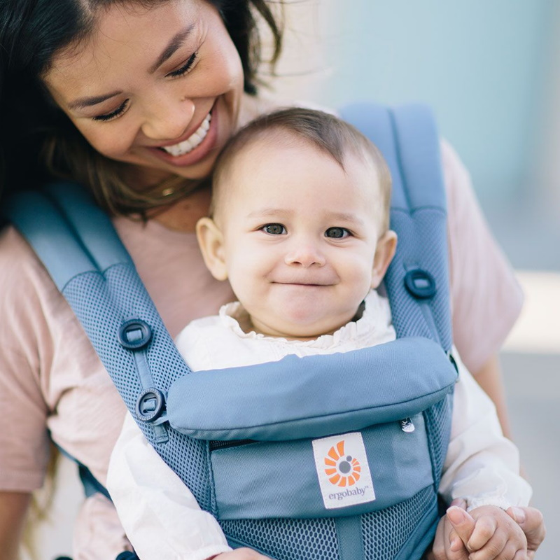 baby-fairErgobaby Omni 360 Cool Air Mesh Carrier (Oxford Blue)