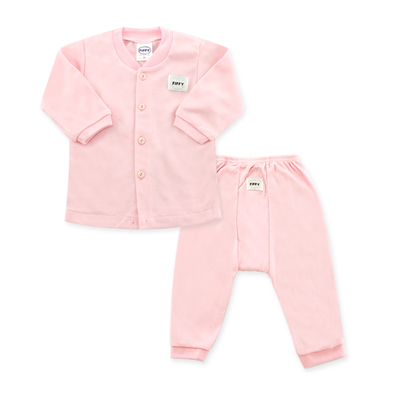 Fiffy Basic Wear (Pink) Long Sleeve / Long Pants Size 3-6 (F65080-PS)