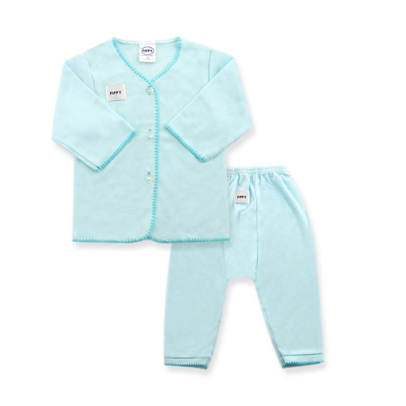 Fiffy Basic Wear (Blue) Long Sleeve /Long Pants Size 6-9 (F65279-BM)