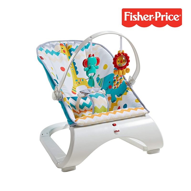 baby-fairFisher Price Carnival Comfort Curve Bouncer
