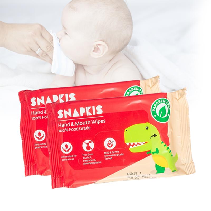 baby-fairSnapkis Hand & Mouth Wipes Carton (20pcs x 60pck)