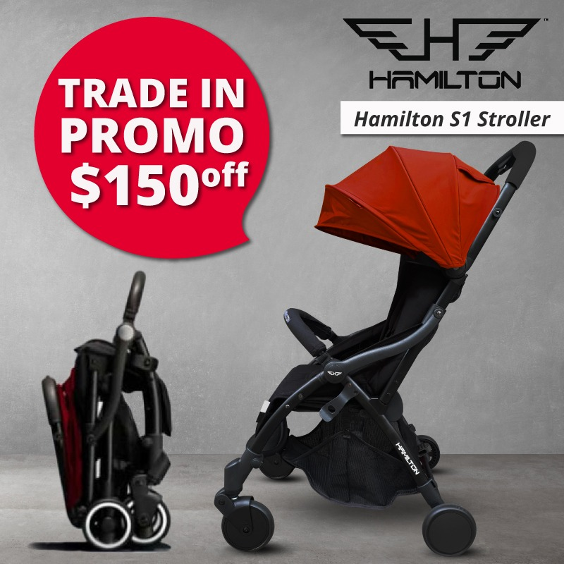 baby-fairHamilton S1 MagicFold Stroller (TRADE IN - $150 OFF!!)