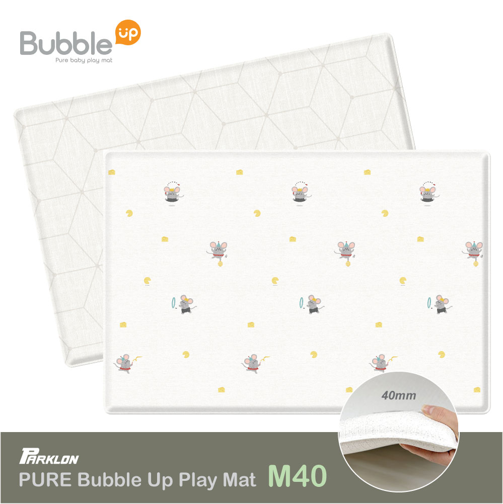 NEW LAUNCH!! Parklon Bubble UP Mouse And Cheese / Rainbow Dream M40 Playmat