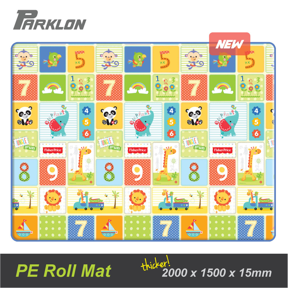 baby-fairNEW LAUNCH!! Fisher Price PE Roll Playmat FP Numbers