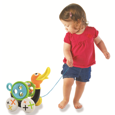 baby-fair Yookidoo Whisting Pull Along Duck Toy