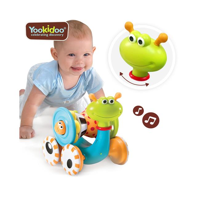 baby-fairYookidoo Crawl N Go Snail Toy