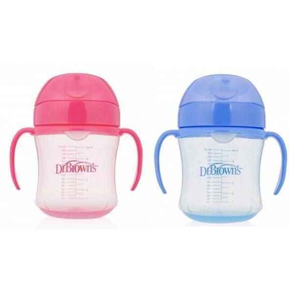 baby-fairDr Brown's 6oz/180ml Soft Spout Transition Cup w/handle