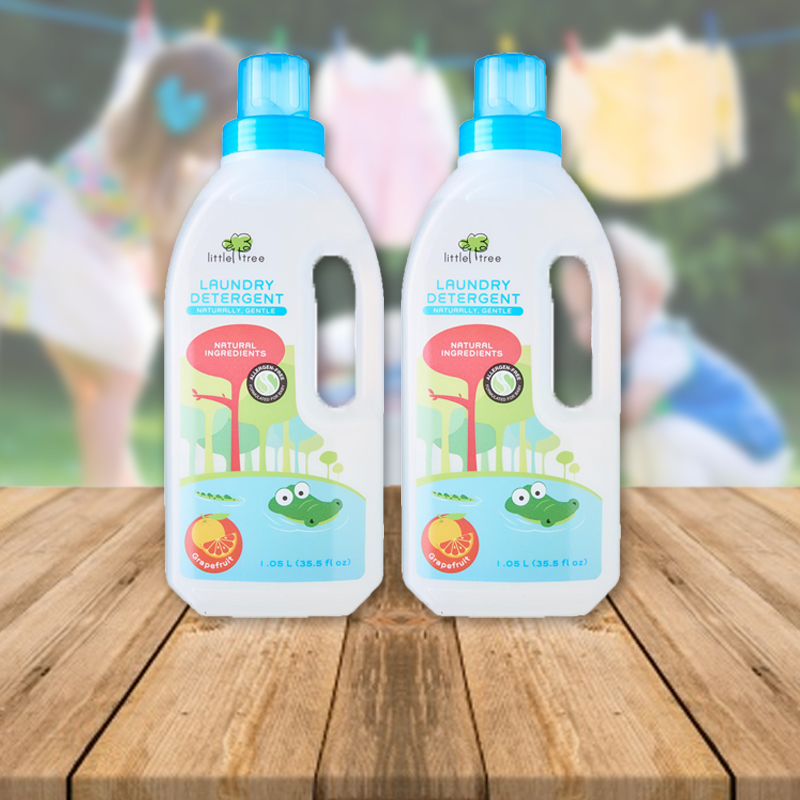 baby-fair Little Tree Baby Laundry Detergent (Grapefruit, 1050ml) Bundle Of 2