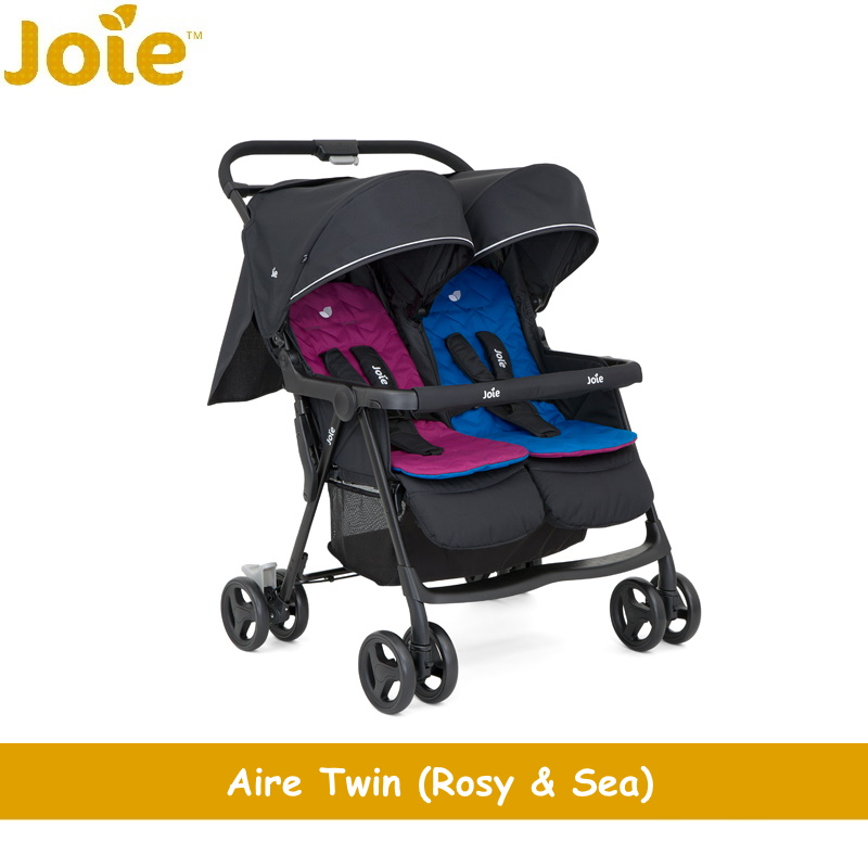 baby-fair Joie Aire Twin Stroller + Free Rain Cover