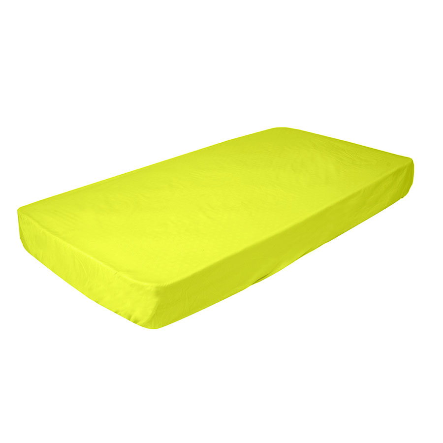 Babyhood Junior Fitted / Flat Sheets - Yellow (For Mini R Cot)